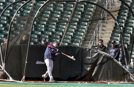 Batting Practice Field Access