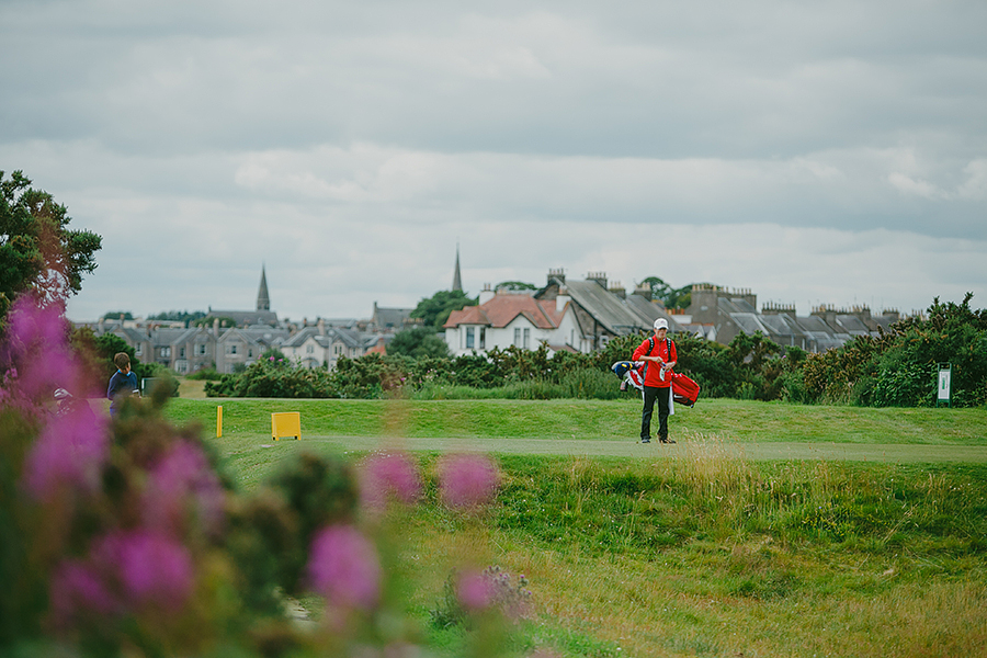 Red Deer Photographer Scotland Travels golf