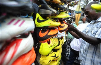 Secondhand shoes imported to Africa help sustainable business and boost the economy, creating jobs and supplying the community with inexpensive shoes.