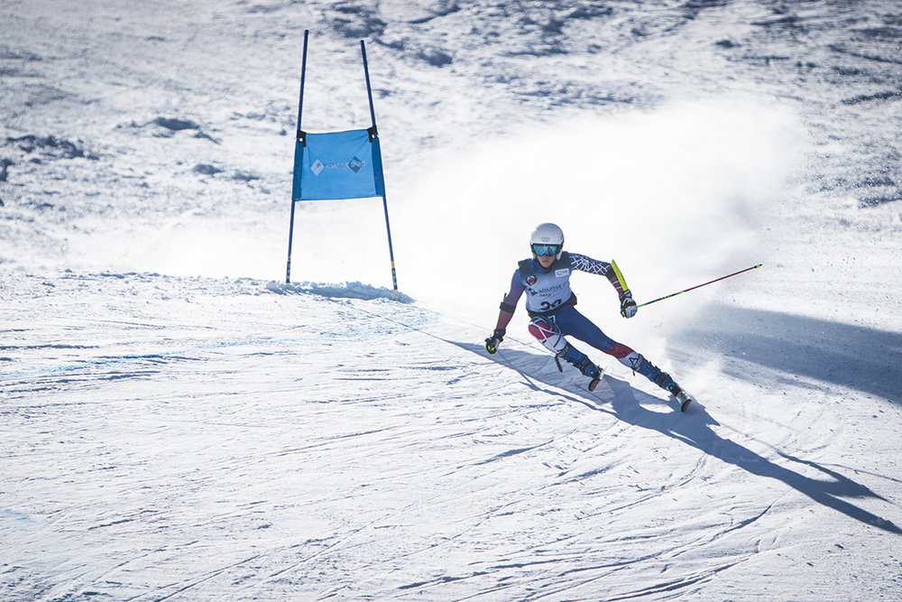 Thomas Walsh on course at the World Cup hosted in Aspen, CO.   He is a member of the National Alpine Team and AVSC.