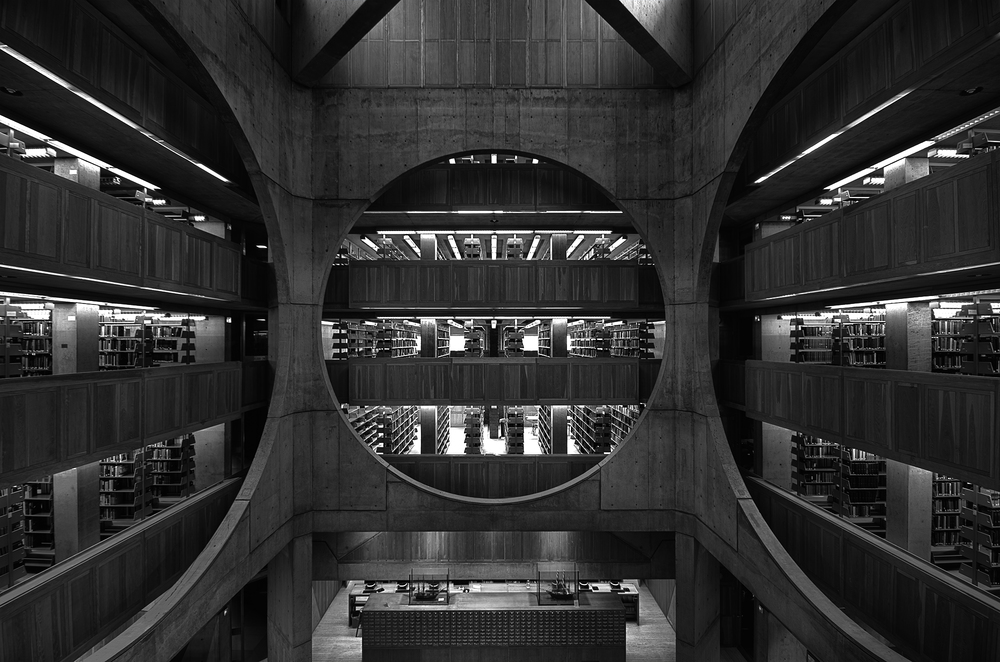 Phillips Exeter Library, Exeter, NH  Louis Kahn
