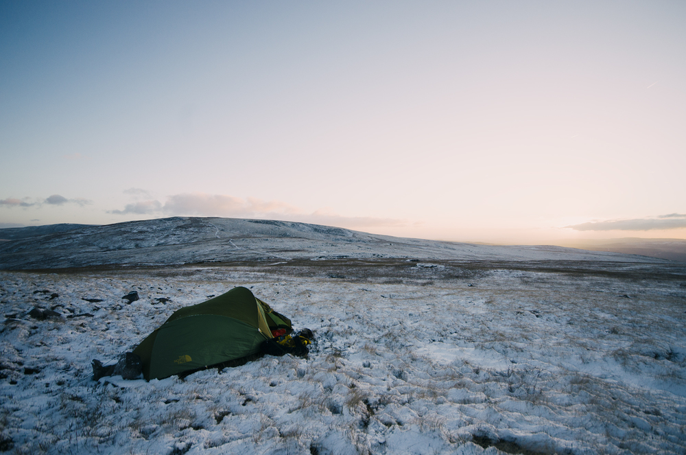 Wild Camp Sunrise - Brecon Beacons National Park, Wales