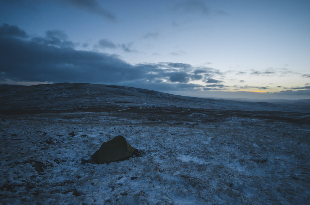 Wild Camp Dawn - Brecon Beacons National Park, Wales