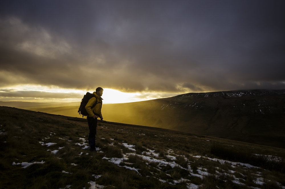 Mountain Man - Brecon Beacons National Park, Wales