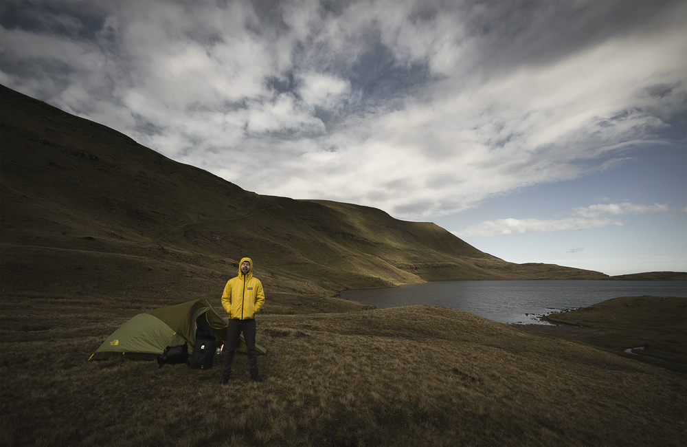 Wild Camp - Llyn y Fan Fawr, Beacon Beacons National Park, Wales