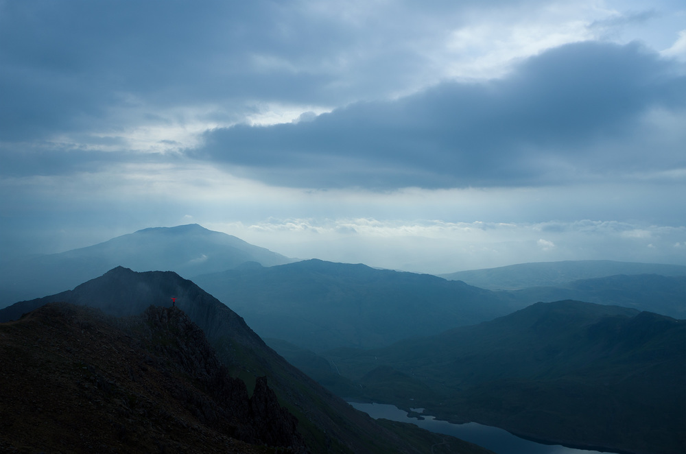 Top of the World - Crib y Ddysgl, Snowdonia National Park, Wales