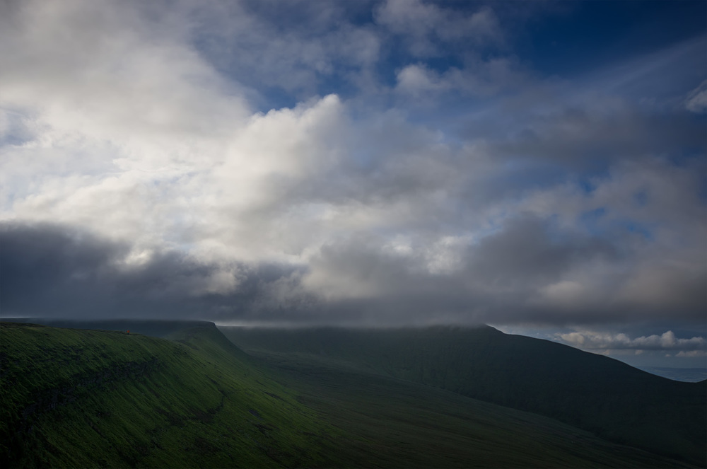 Running from the Storm - Craig y Fan Ddu, Brecon Beacons NP
