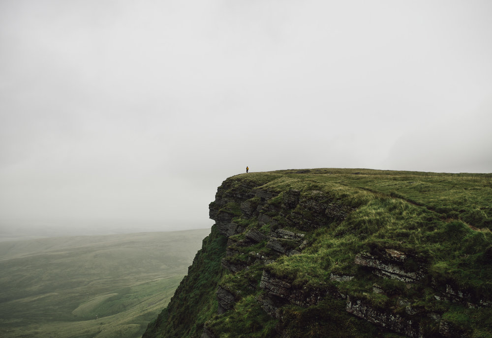 Making the Summit - Picws Du, Brecon Beacons National Park, Wales