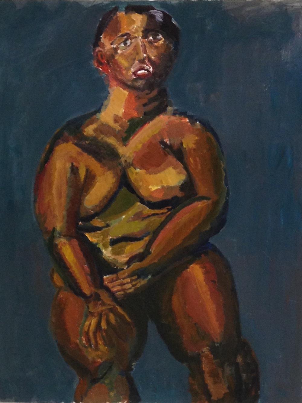 Alex Gordon,  Nude