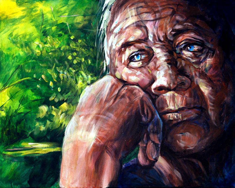 Robyn Guo,  Pensive