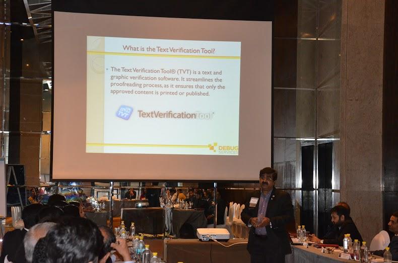 Debug Services presenting TVT