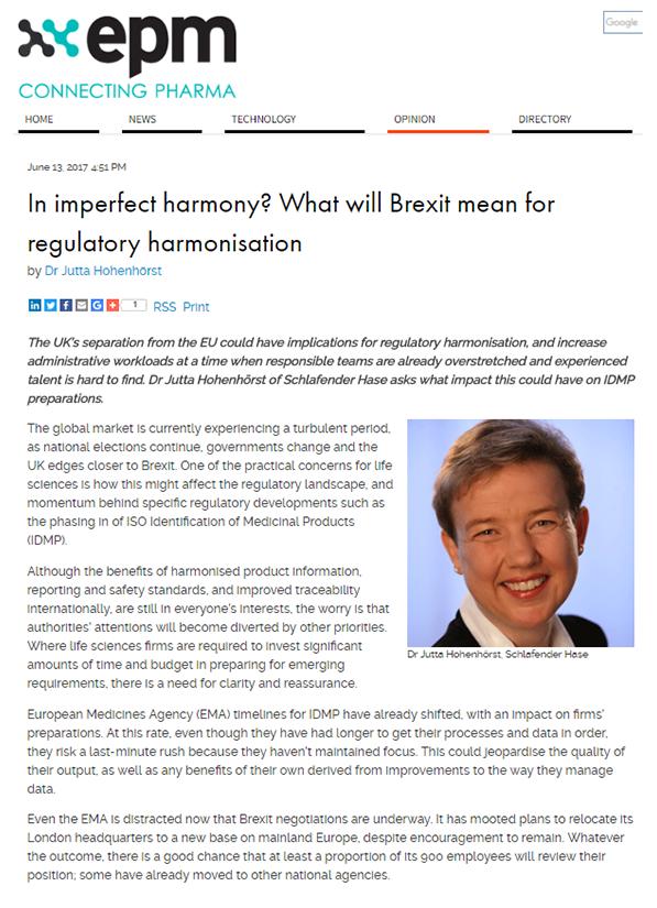 Brexit Pharma