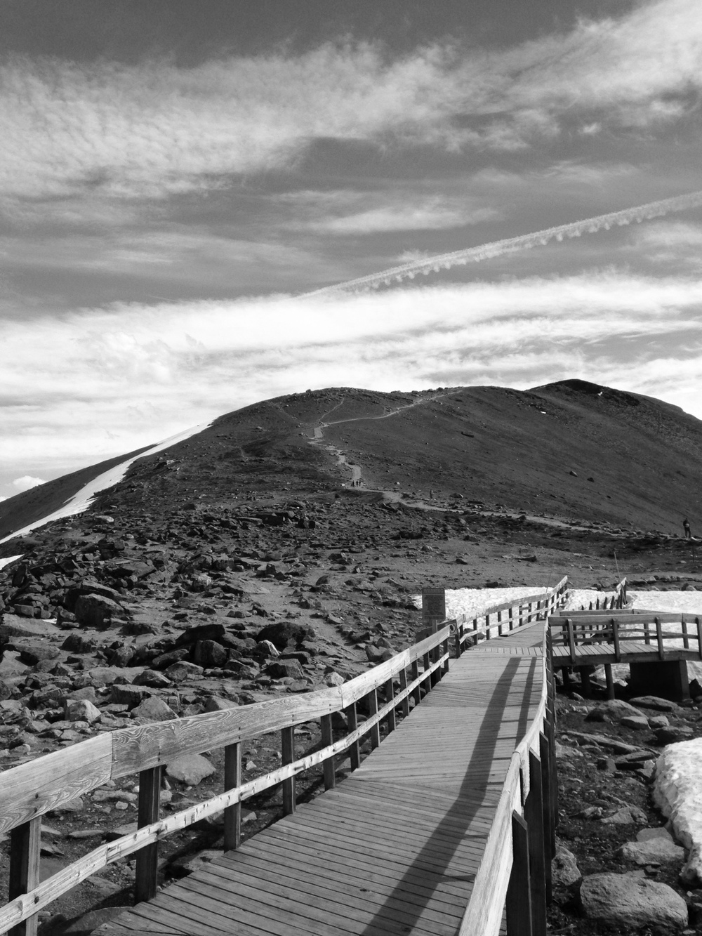 Summit of Whistlers Mountain