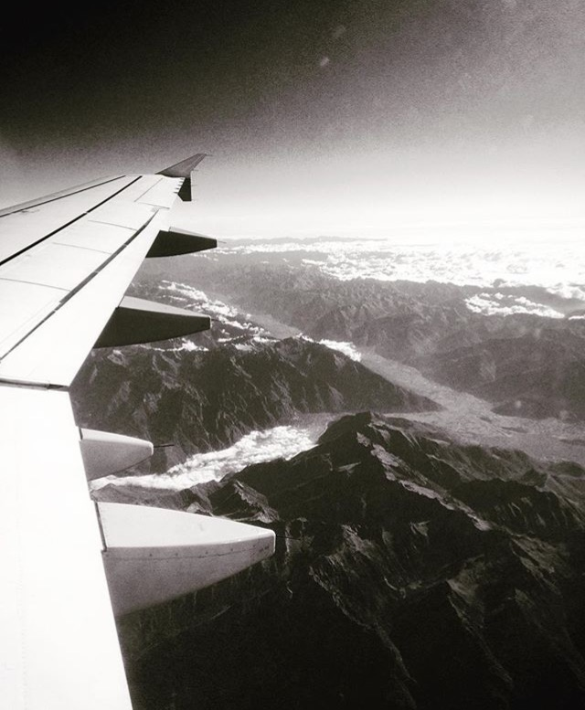 Flying Over The Swiss Alps