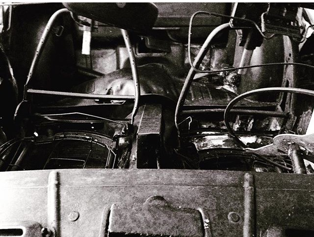 Burnt Old Car