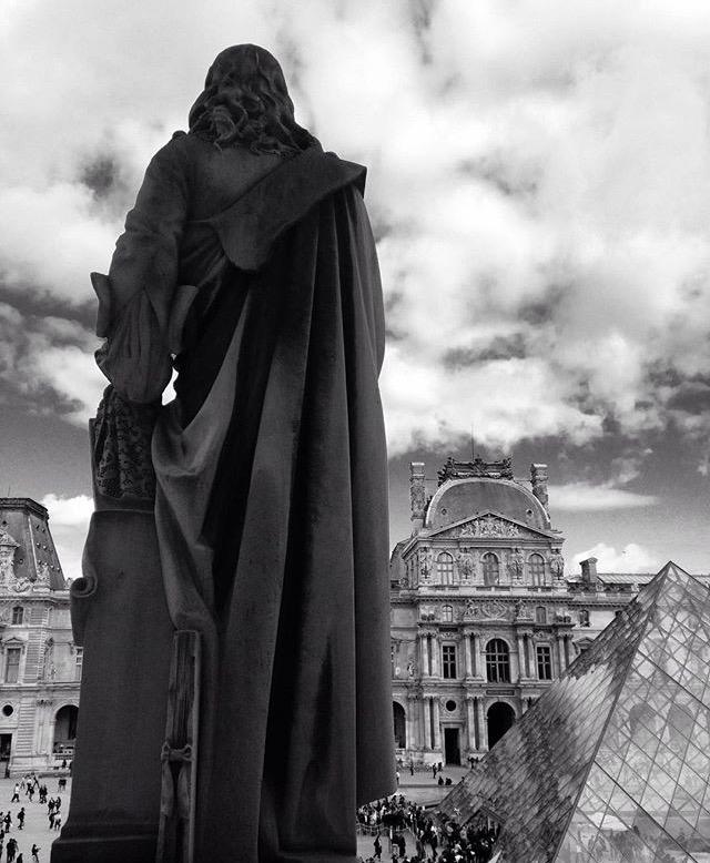 Statue at the Louvre, Paris