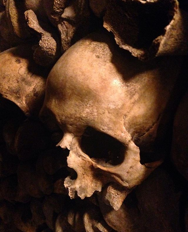 Deep in the Catacombes