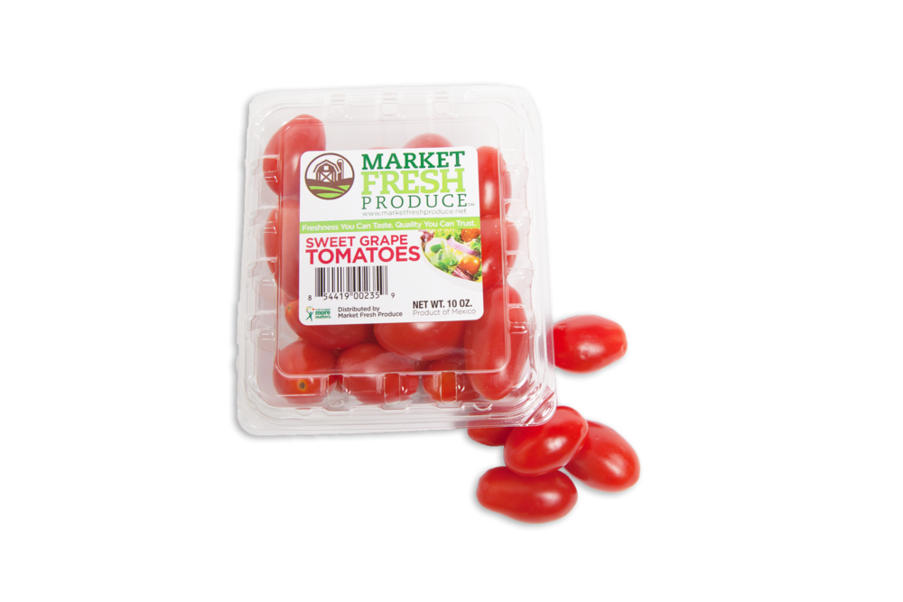 Grape Tomatoes - Our grape tomatoes are always great quality and we have a year around program! We have grape tomatoes from the US, Canada and Mexico and come in a few different packaging options!