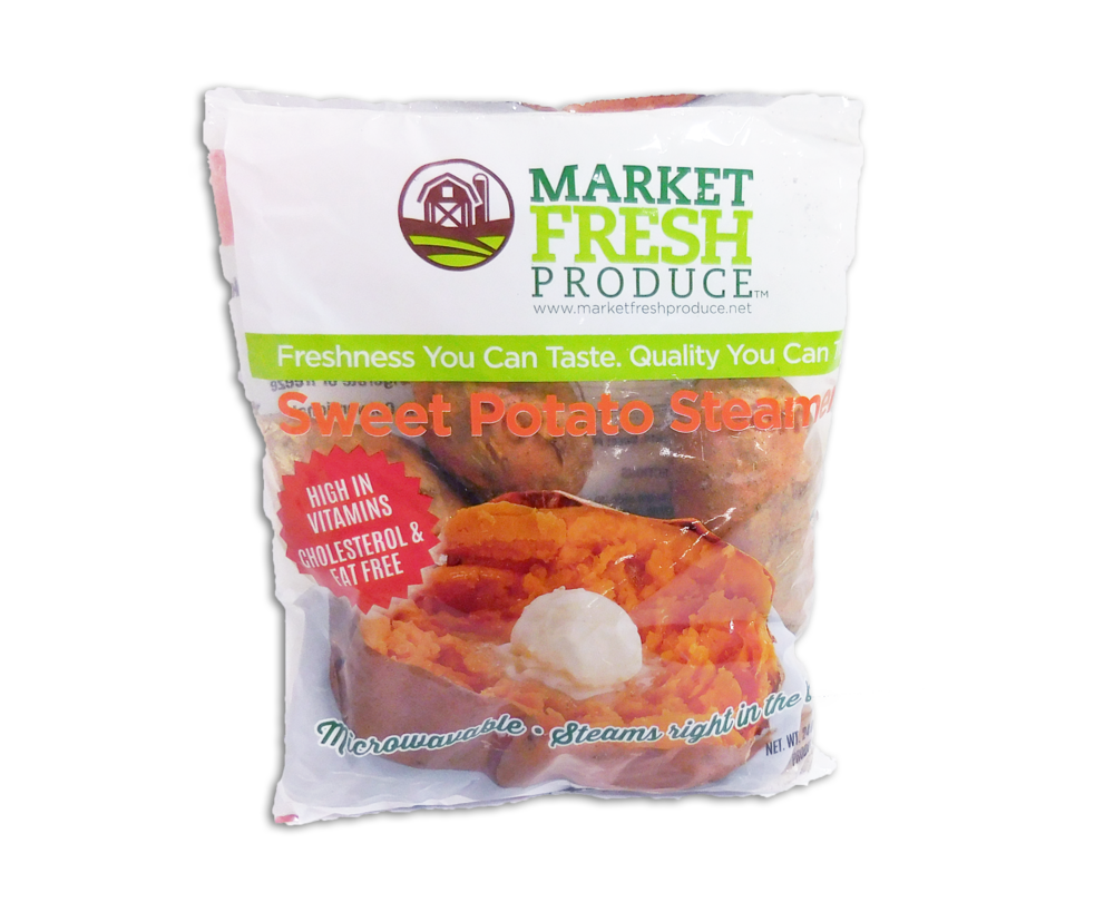 Packaged Sweet Potatoes - We are your retail sweet potato guru! Whether its bagged sweet potatoes or singles, we have them all. From 3, 6 or 10 pound bags to 12 ounce steamer bags or steamer individual sweet potatoes. For individuals or the sweet potato loving family, we have what you are looking for!