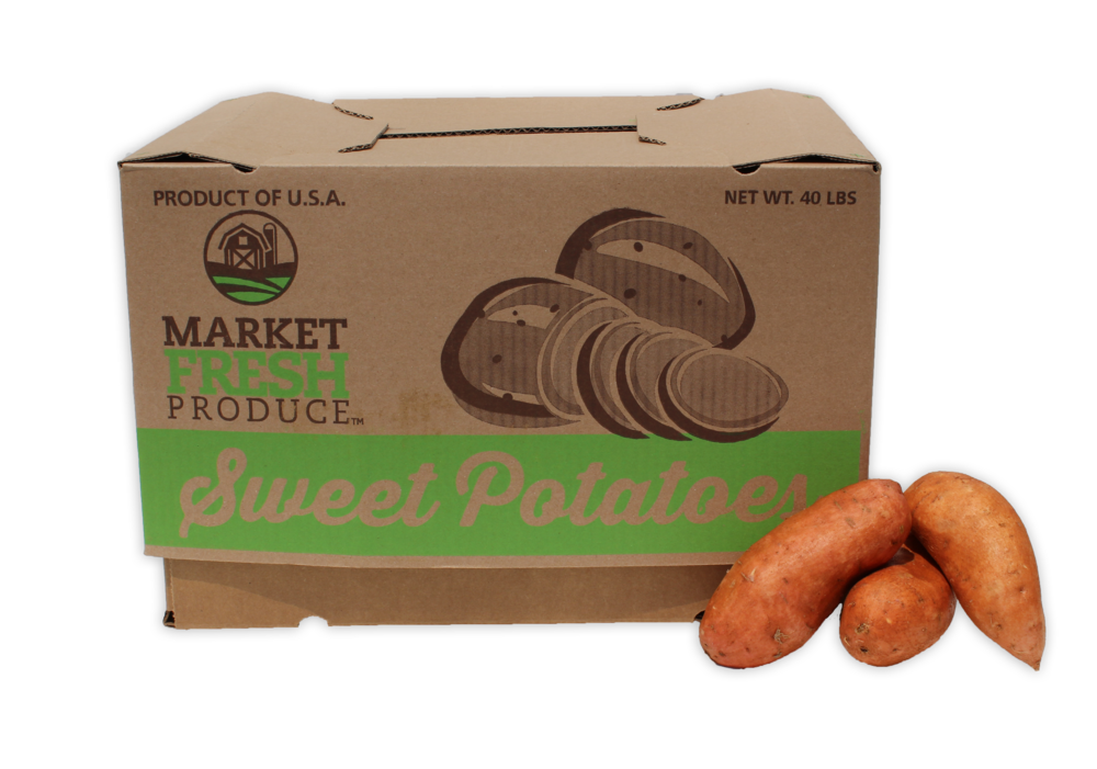 Bulk Sweet Potatoes - If you can't get enough sweet potatoes like we us, then we offer sweet potatoes in 40 pound cases! That might hold you over for a while but if not, we always have more!