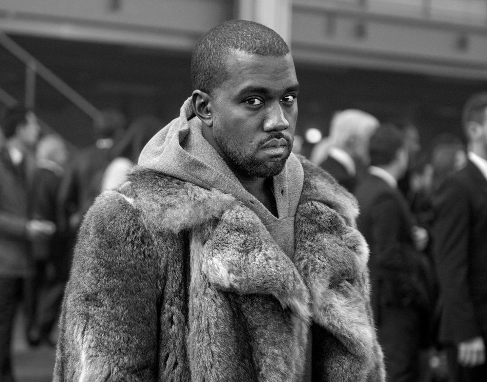 Kanye West.   Credit: Zacharie Scheurer/Associated Press