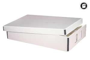 "Hollinger Flat Storage Box - 3-1/2"" X 20"" W X 16"" L  $27.95 each"