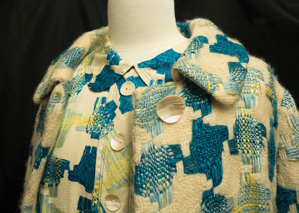 Matching silk and wool fabrics