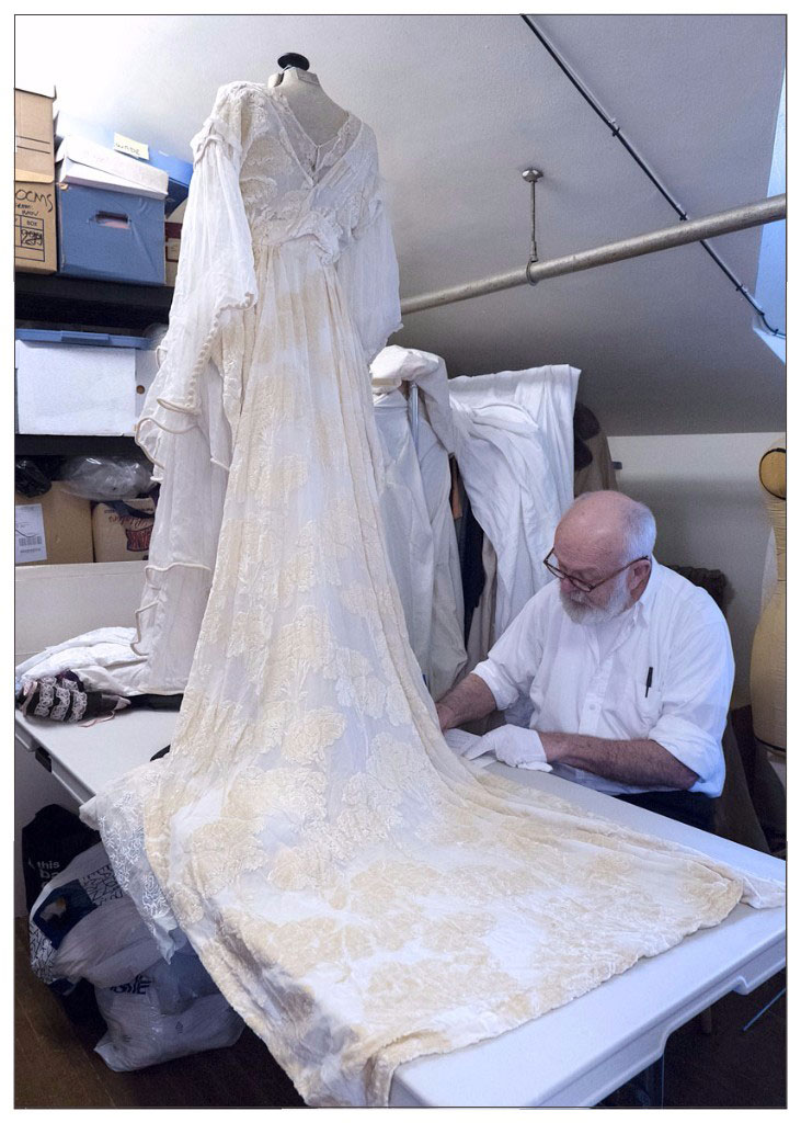 Ivan Sayers and the Woodwards Wedding Dress