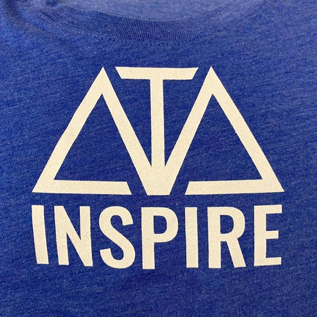 """""""Inspire"""" in Midnight Blue. Get yours at ATA.world! Use code: """"THRIVE"""" to get 20% off before 10/1/18! 👕 . . . #clothingbrand#apparel#clothing#artistsoninstagram#musicians#empowerment#charity#moda#swag#stylish#shirts#fresh#instafashion#instadaily#photooftheday#daily#igers#shop#shopping#store#fashioninsta#like4likeback#daily#style#streetwear#values#tshirtshop#inspiration#artists#ataworld"""