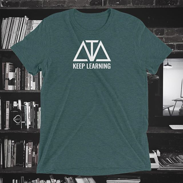 Keep Learning. Get yours today at ATA.world! This is our forest green. 🌲 📚 . . . #clothingbrand#apparel#clothing#artistsoninstagram#musicians#empowerment#charity#moda#swag#stylish#shirts#fresh#instafashion#instadaily#keeplearning#daily#forestgreen#shop#shopping#store#fashioninsta#greenshirt#daily#style#streetwear#values#tshirtshop#inspiration#artists#ataworld