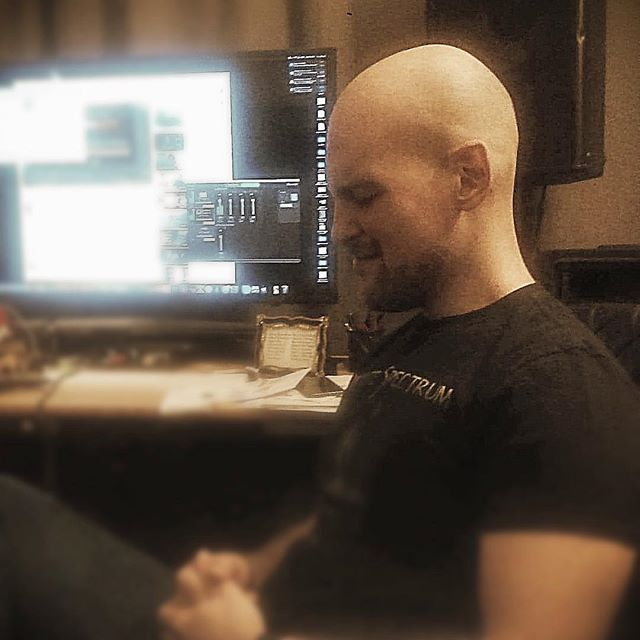@alexraykin digging some new material. Can't wait for you all to hear what we have been brewing! #newalbum #feelingit #progressivemetal #infinitespectrum