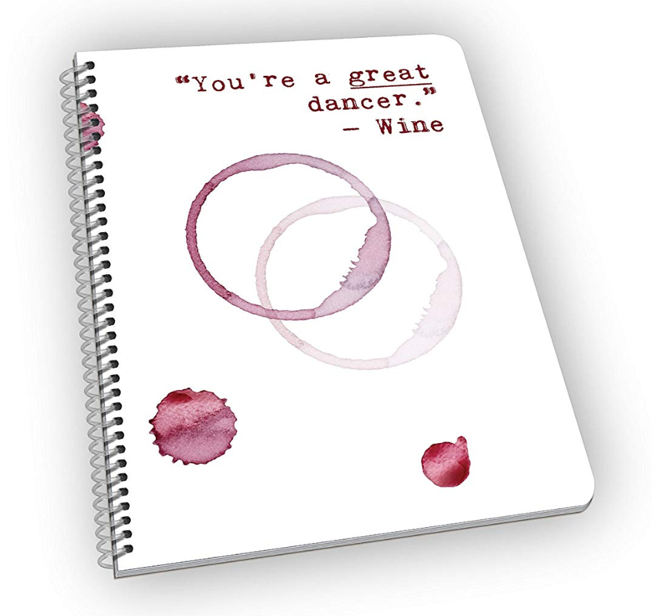 BAD ADVICE FROM WINE… - Because that's all we need…and a place to jot notes and get great, awful advice…after possibly too much drinking. Each page holds a great quote from wine and it's a great journal for writing down tasting notes, expressing your feelings…making lists…and whatever else you like to write…$8.50