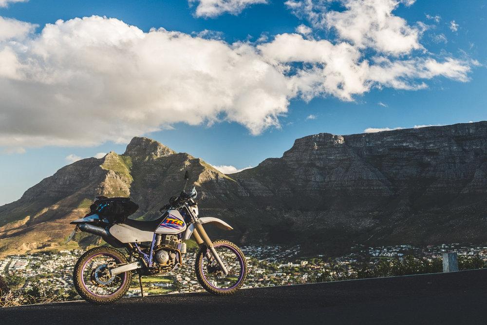 Devin's Ride | TheMotoSocialCAPETOWN | Yamaha TTR 250