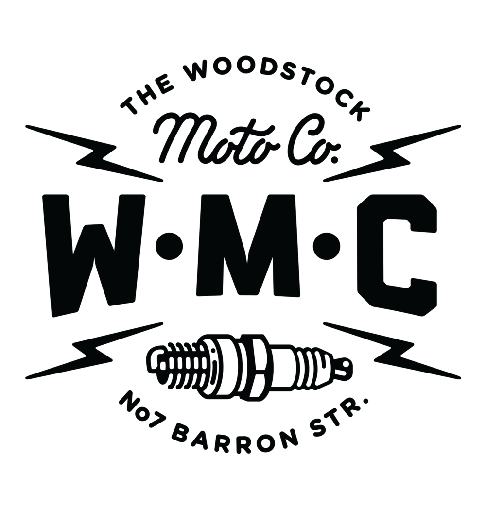The Woodstock Moto Co. Logo