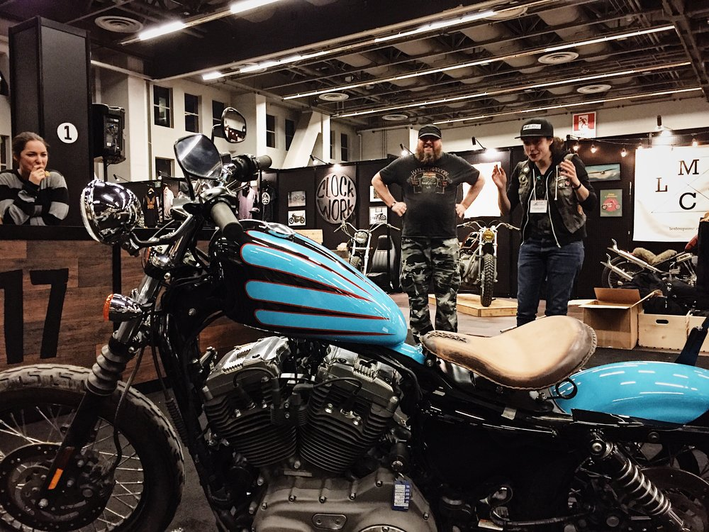 Catherine's Ride | ONELAND | TheMotoSocialMONTREAL | Harley Sportster