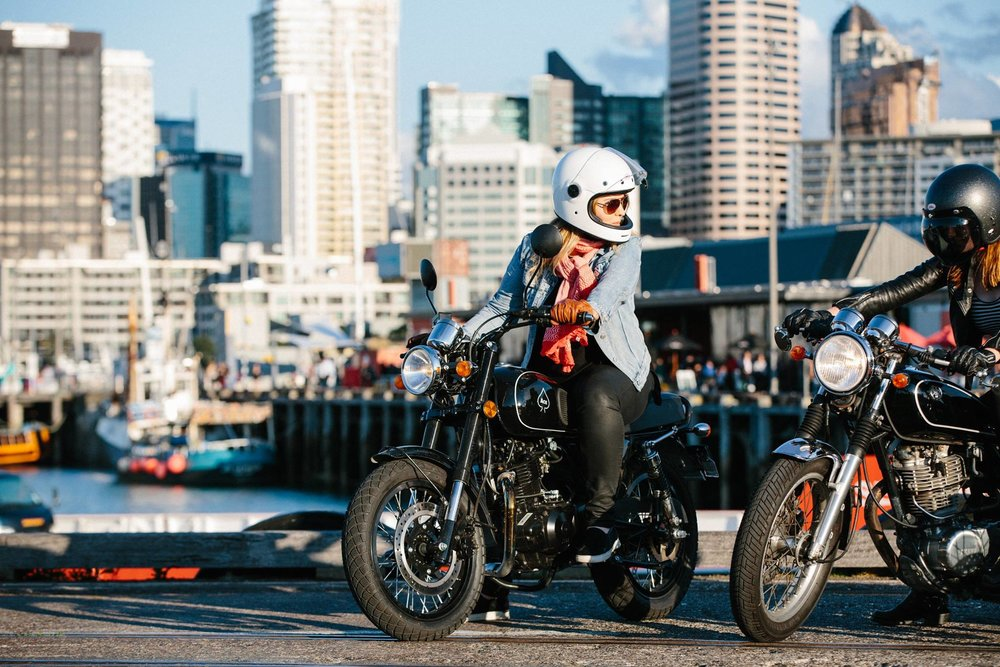 Courtney's Ride | TheMotoSocialAUCKLAND | Ace 250 | Photo by: Glenn Manchester