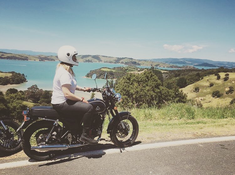 Courney's Ride | TheMotoSocialAUCKLAND | Ace 250