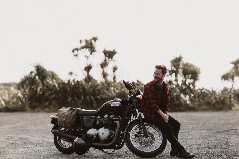 Glenn's Ride | #TheMotoSocialAUCKLAND | Triumph Bonneville