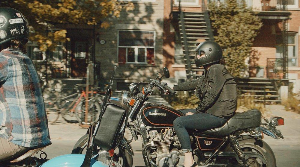 Roxanne's Ride | ONELAND | TheMotoSocialMONTREAL