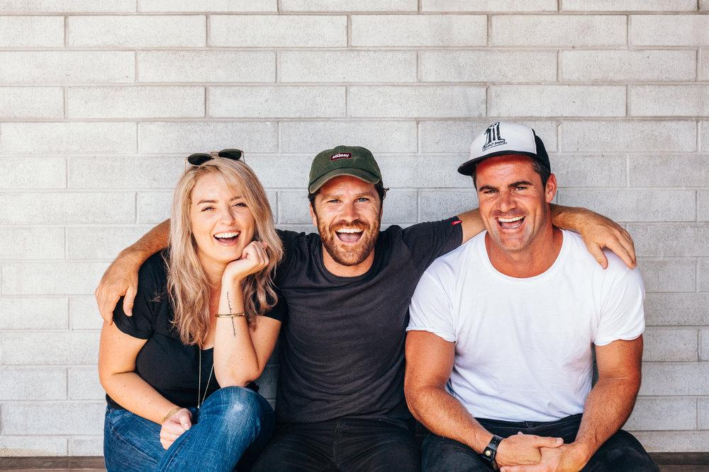 Courtney (Left), Glenn (Centre) & Jay (Right) | TheMotoSocialAUCKLAND
