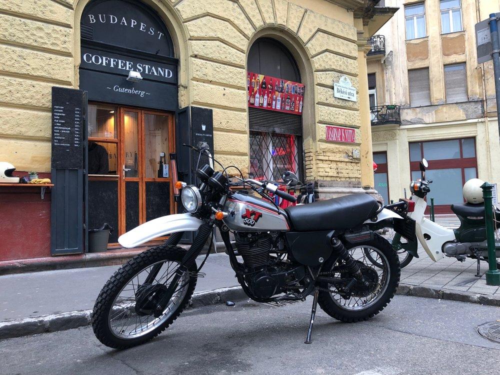 Geri's Ride | TheMotoSocialBUDAPEST