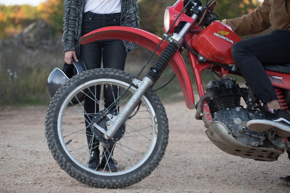 Vivien's Ride | TheMotoSocialBUDAPEST