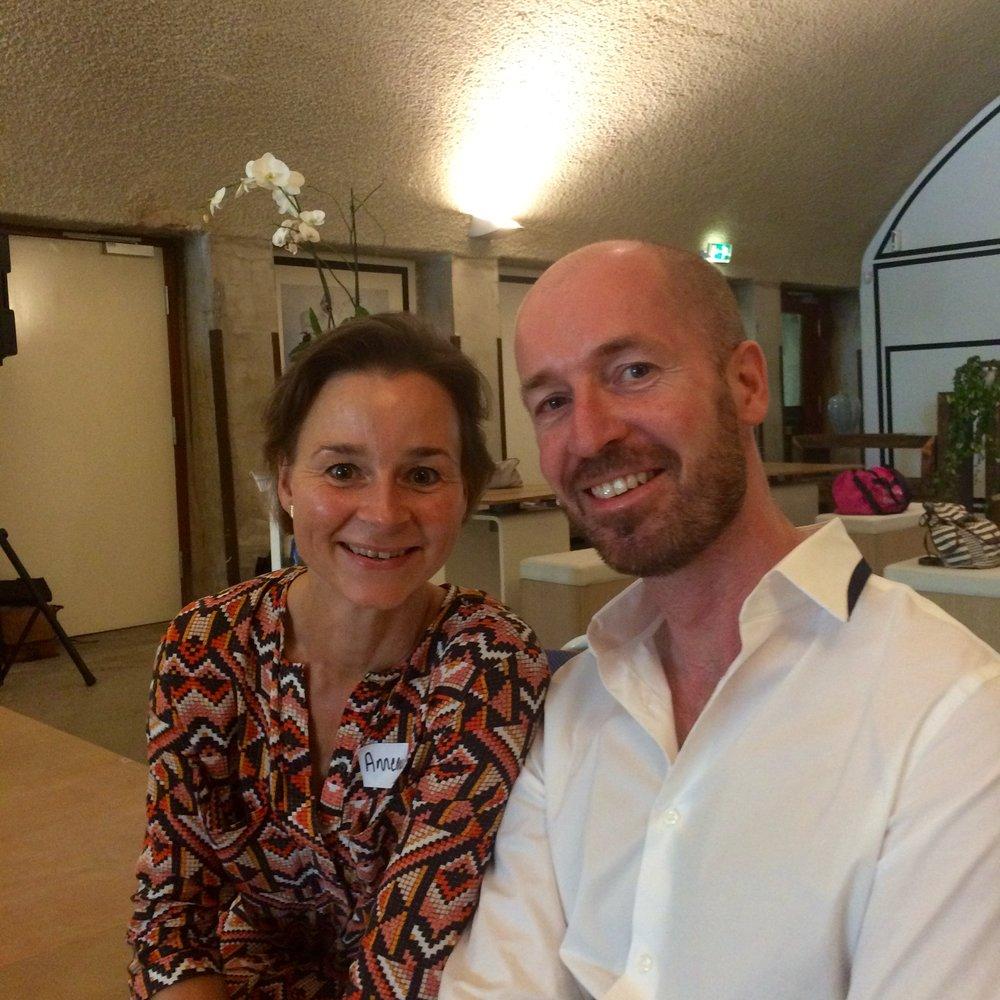 Annemarie Labinjo van der Muelen and Marc Vlemmix