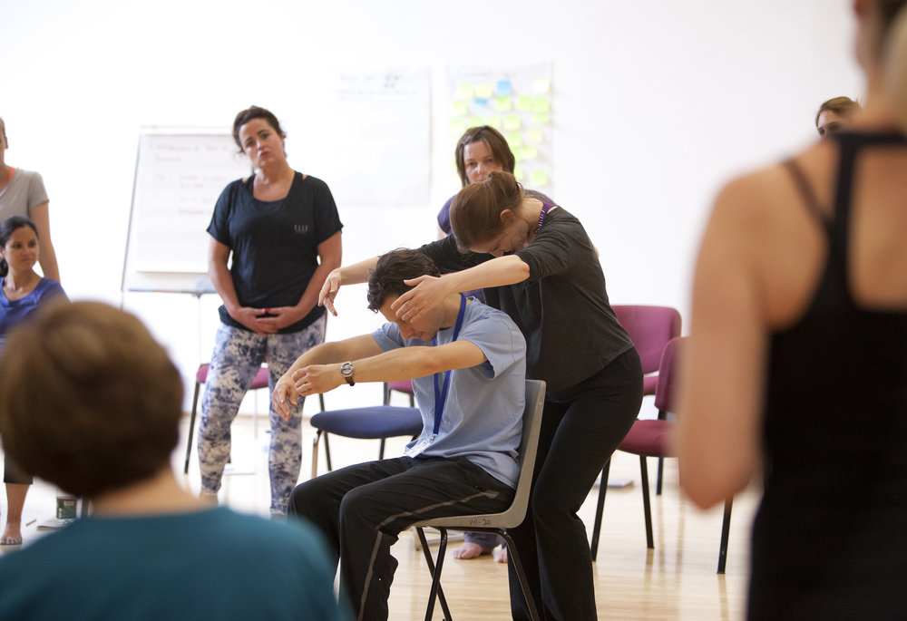People Dancing Summer School 2016, Introduction to Dance for Parkinson's - photography by Rachel Cherry