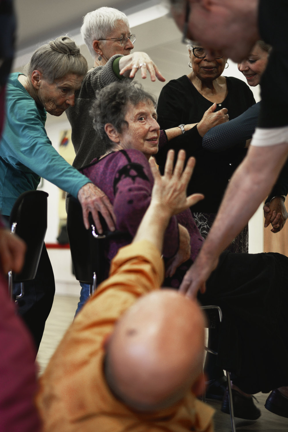 Dancing with Parkinson's at St. Joseph's Hospice