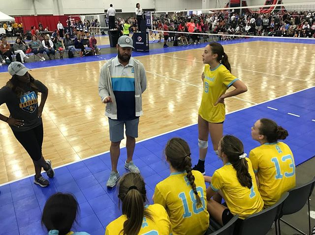 @dallasarsenalvbc 14's #gjnc18  Looking good ladies! Keep it up!