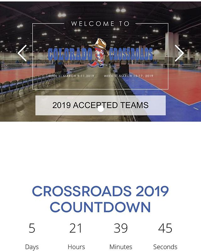 Can't believe it's March! Significant in so many ways. 18's are already half way through their final club season, and everyone is gearing up for qualifiers!! Pumped to be @crossroadsvb next weekend checking with the EP family and building more relationships. What excites you about volleyball in March? #volleyball #clubvolleyball #uniforms #relationships #customapparel #gjnc #coloradocrossroads #service