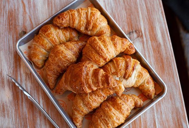Croissants on croissants on croissants 🥐
