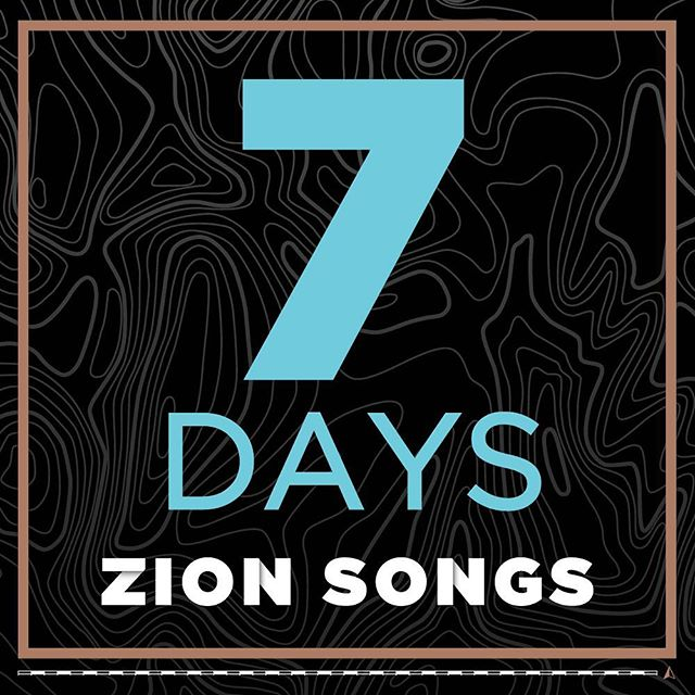 We're one week away from the release of Zion Songs.