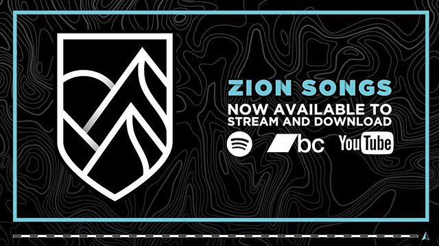 Zion Songs is now available to stream and download for FREE! Check it out on @spotify @bandcamp and @youtube! #ZionSongs #releaseday